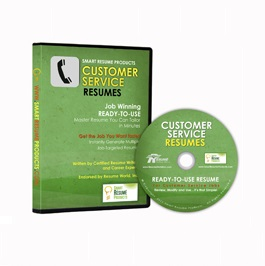 Customer Service Resumes: $65